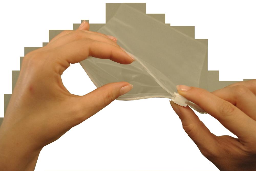 Slider Zipper Bag 320x440 mm, transparent